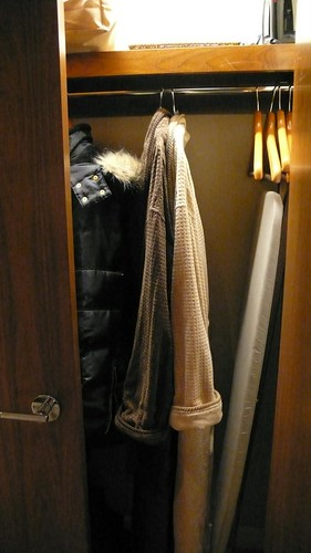 closet with robes