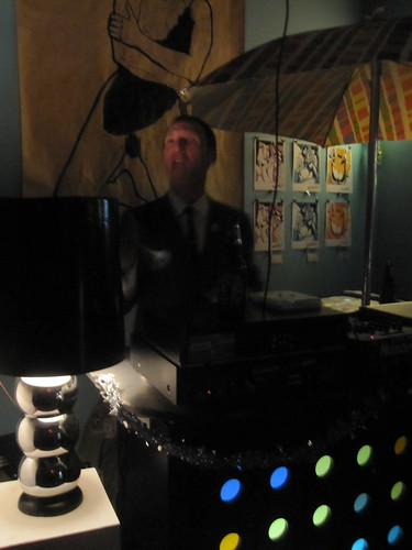 DJ at Atomic Café NYE bash