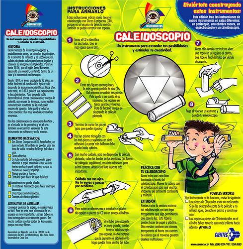 Instrumentos para investigar la Luz - Cajas de Cereal Jack's