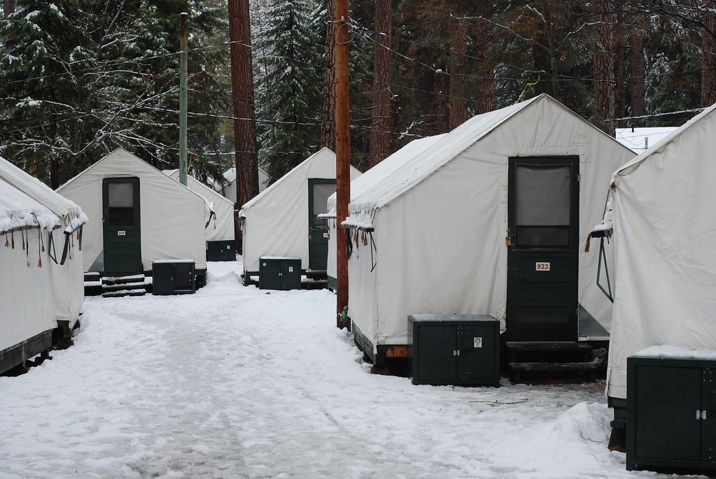 Tent Cabins in Curry Village & The Importance of Dessert: Yosemite National Park: Staying in ...