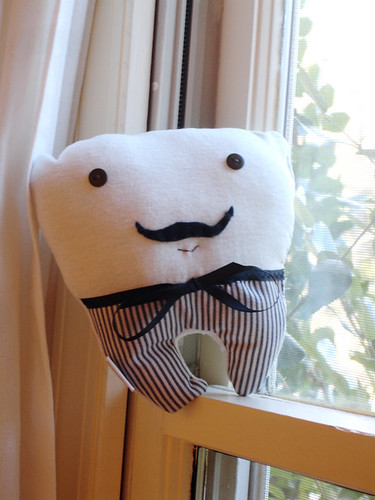 A Plush A Day Challenge! Day 29 - Mr. Molar!