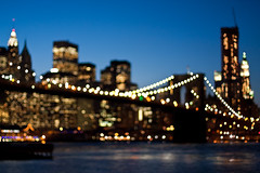NYC Photowalk: Brooklyn Bridge Bokeh