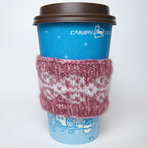 Knit Coffee Cup Sleeve