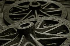 wheels (Leo Reynolds) Tags: bw photoshop canon eos iso400 duotone f40 47mm 40d hpexif 0017sec leol30random groupsepiabw xleol30x xxx2010xxx