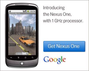 Nexus One Google Content Ad