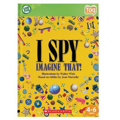 I SPY Tag Activity Book by seolatest