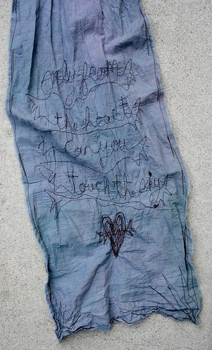 Rumi Poetry scarf