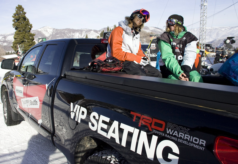 Jacob Wester and Banks Gilberti enjoy being VIPs