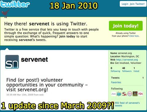 servenet.org (servenet) on Twitter