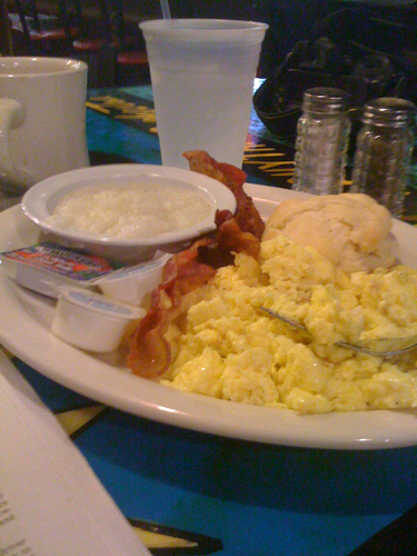 Soul Man Breakfast from Miss Pollys on Beale St.
