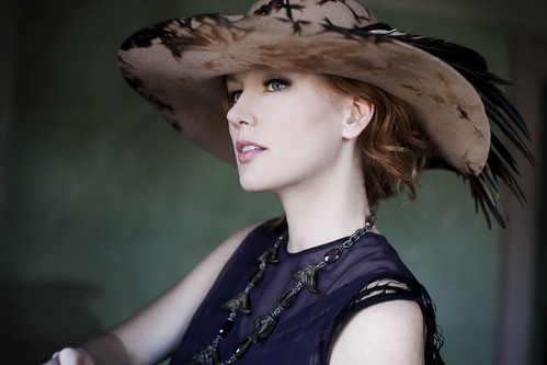 Allison Moorer Crows hat