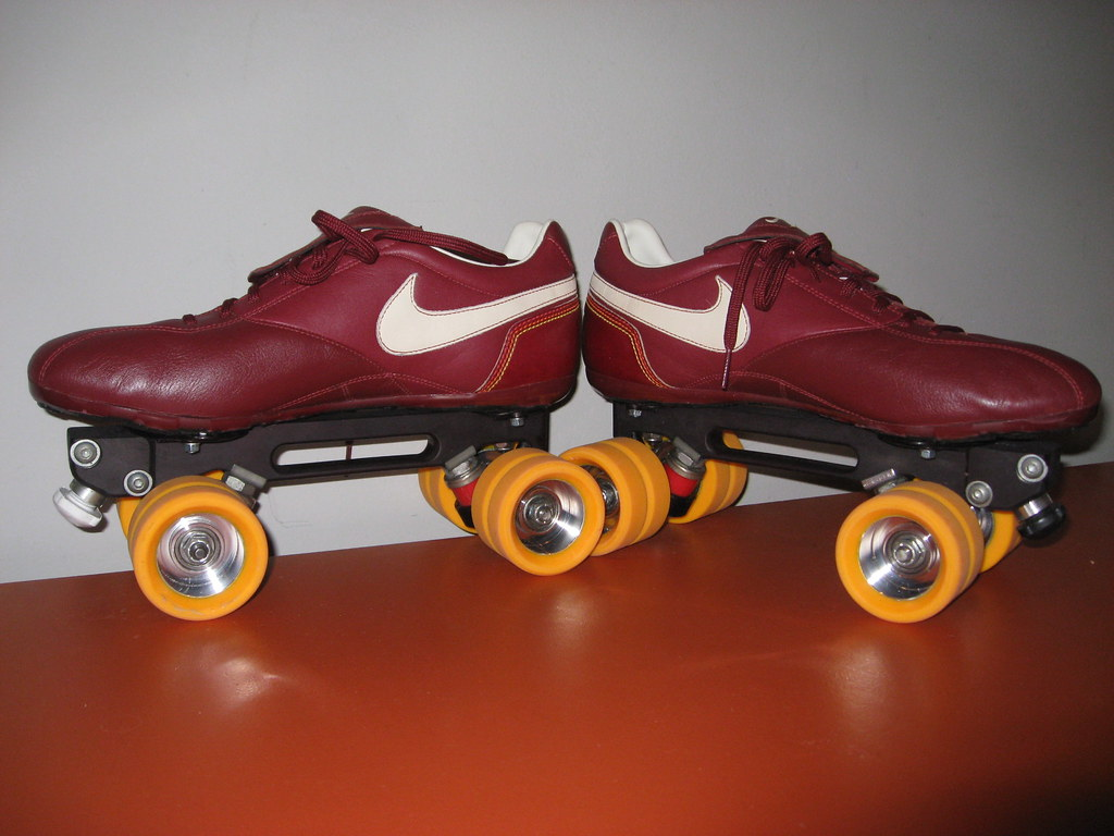 Roller shoes perth - So This Is My Latest Creation Its A Nike Calf Leather Soccer Shoe With All Cleats Removed Plate Is A Dyed One Hole Laser With Mr Shelby Blingpins