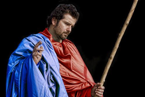 Daniel Martín como Santo Tomás. Fotografía de Eva Corral