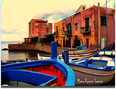 Boats parking (Maria Rosaria Sannino/images and words) Tags: boats italia fishermen parking sicily palermo porticello mariarosariasannino ancientsuburb vividstriking