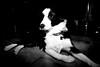 Indi in the spotlight (fotoham) Tags: dog bordercollie indi 6monthstoday nikond3000 sigmaflashef500dgsuper nikkorafsdx1855mmvr