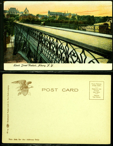 Hawk Street viaduct postcard