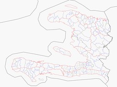 Haiti Administrative boundaries from OSM as at 29/01/2010