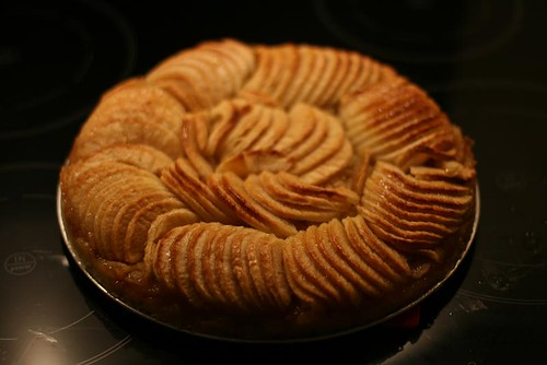 Apple Tart, epleterte