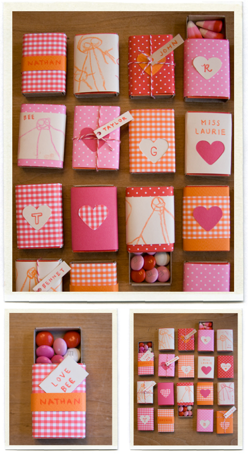 Paper Crafts Matchbox Candy Holder