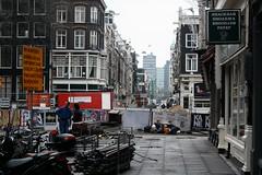 Utrechtsestraat (Chris Bakker) Tags: city holland netherlands dutch amsterdam canon canal d bank center brug snackbar utrechtsestraat herengracht nederlandse hoofdkantoor grachtenpanden 450d eos450