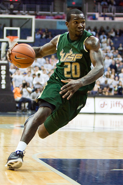 Dominique Jones University of South Florida Basketball