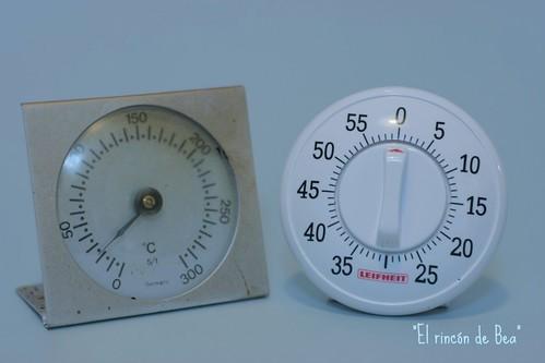 Termometro y reloj