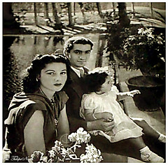 H.M Shah Mohamed Reza Pahlavi & Empress Fawzia - Courtesy; Princess Limma (Tulipe Noire) Tags: king iran princess daughter egypt middleeast royal persia promenade wife empress reza mohamed shah shahnaz pahlavi fawzia