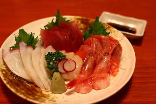 晚餐 還是要生魚片