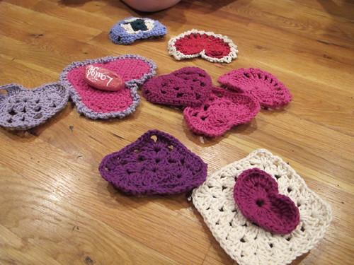 Crocheted love
