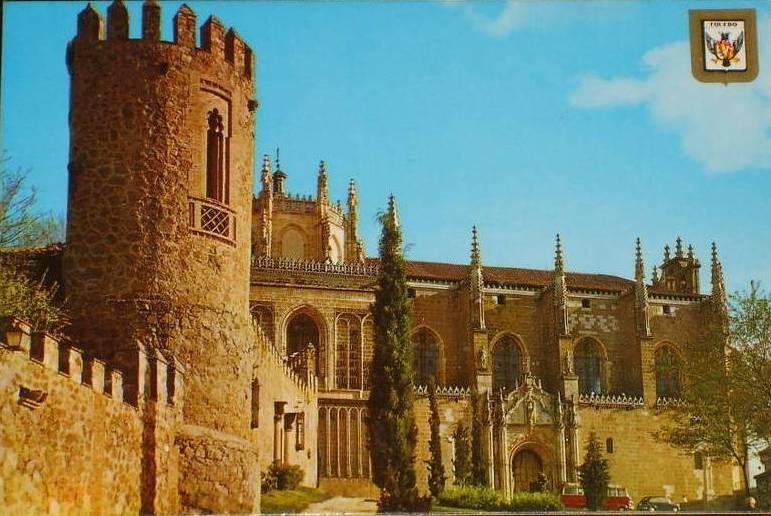 San Juan de los Reyes a mediados del siglo XX.