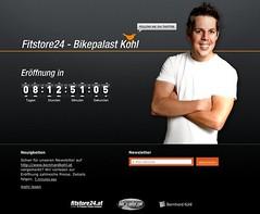 Teaser Website Fitstore24 - Bikepalast Kohl (simplease) Tags: website teaser simplease