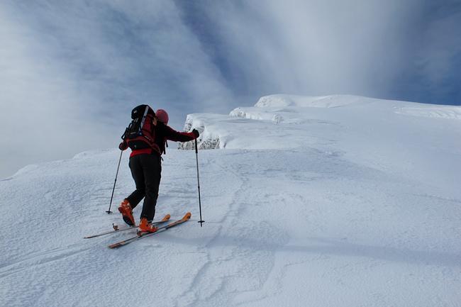 Scialpinismo in valle del Sestaione - alpe tre potenze