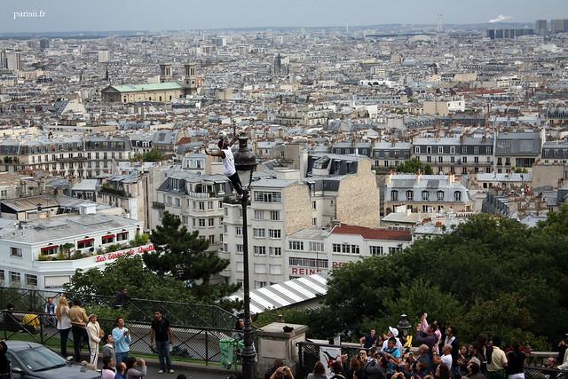 Superbe panorama sur Paris