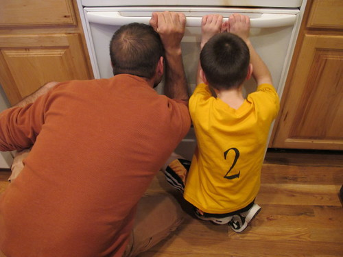 A Bread Geek and his bread-geek-in-training