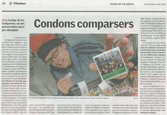 Diari de Vilanova condons comparsers RFSU