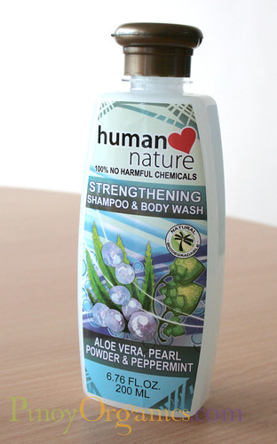 Human Nature-Strengthening Shampoo