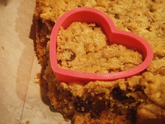 chewy chunky blondies - heart shaped (valentine's day) - 27
