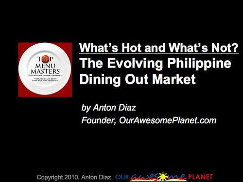 2010 Foodie Trends Slide1