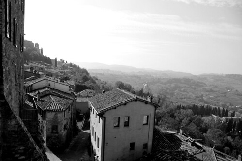Toscane zwart wit