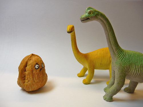 Tall-nut resists the dinosaur invasion