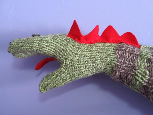 Sock puppet mitten
