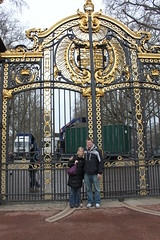 Krisit and Kevin at The Palace Gate. (Hangar 24 Craft Brewery) Tags: ca bridge ireland england ford beer europe kevin ben jessica hangar cook award craft trent brewery kristi 24 wright guiness distillery js section redlands upon burton 2010 midlands jameson ibd marstons zerek