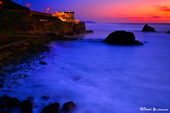 Cliff house sunset study (davidyuweb) Tags: blue sunset cliff house log time study anawesomeshot theunforgettablepictures expourse