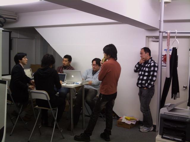 skypeミーティング