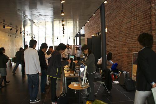 WordCamp Fukuoka スポンサーブース