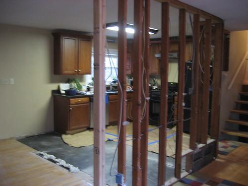 Kitchen dismantling
