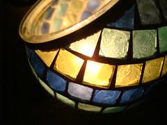 05-31-2008 (3) (Desrouvier) Tags: blue light green yellow candle mosaic mosai