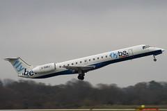 G-EMBJ - 145134 - FlyBe - Embraer EMB-145EU - Manchester - 081126 - Steven Gray - IMG_3226