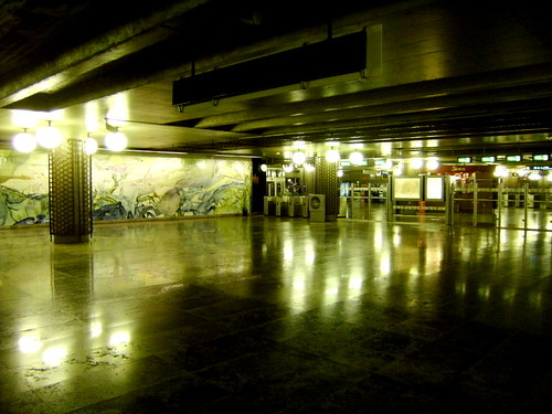 Metro de Lisboa: Estação Oriente