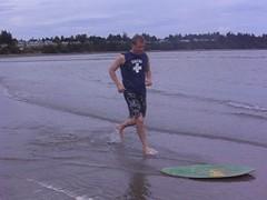 John (johnboy_horodyski) Tags: beach john skimboarding